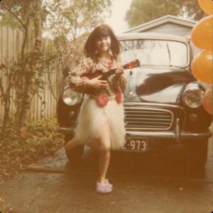 Photo Helper Fiona at aged 6